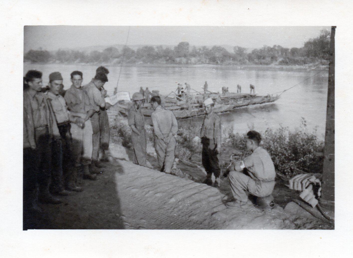 1944 08 28 franchissement du rhone 28 aout 1944