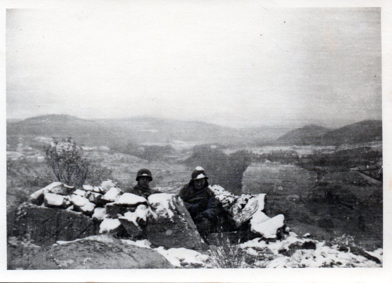1944 11 08 poste de la carriere 8 novembre 1944