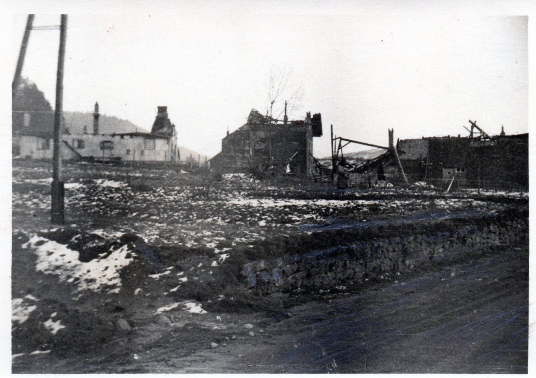 1944 12 02 sur la route de gerardmer 2 decembre 1944