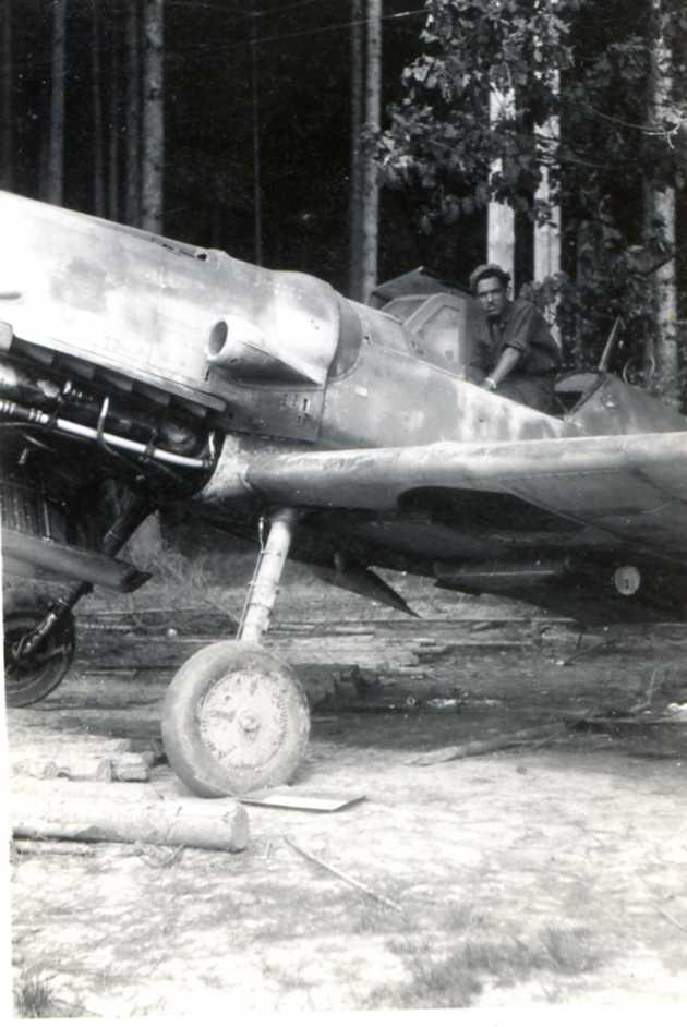 1945 albert berdah dans messerschmitt 109