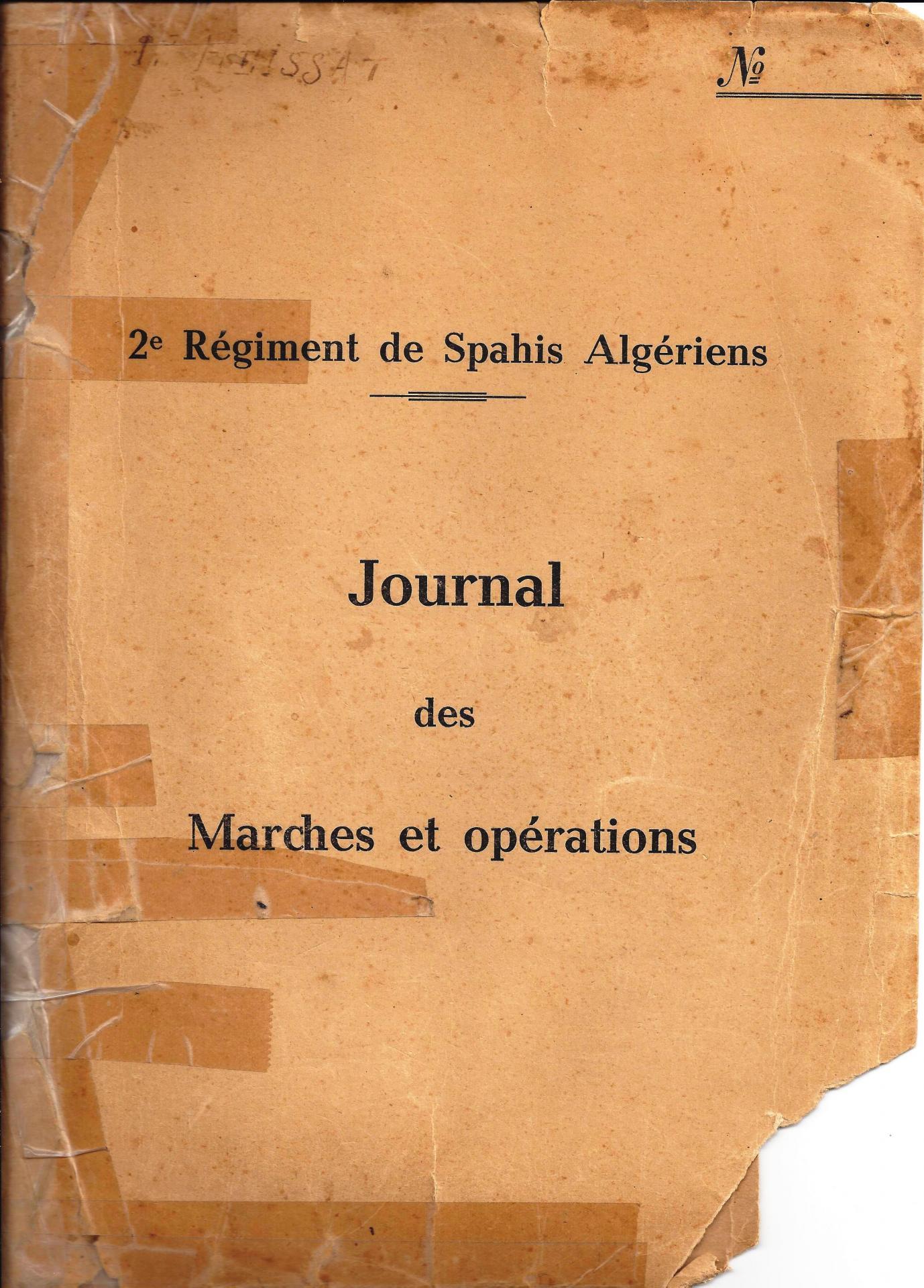 2rsar jmo aout 1944 juillet 1945 couverture