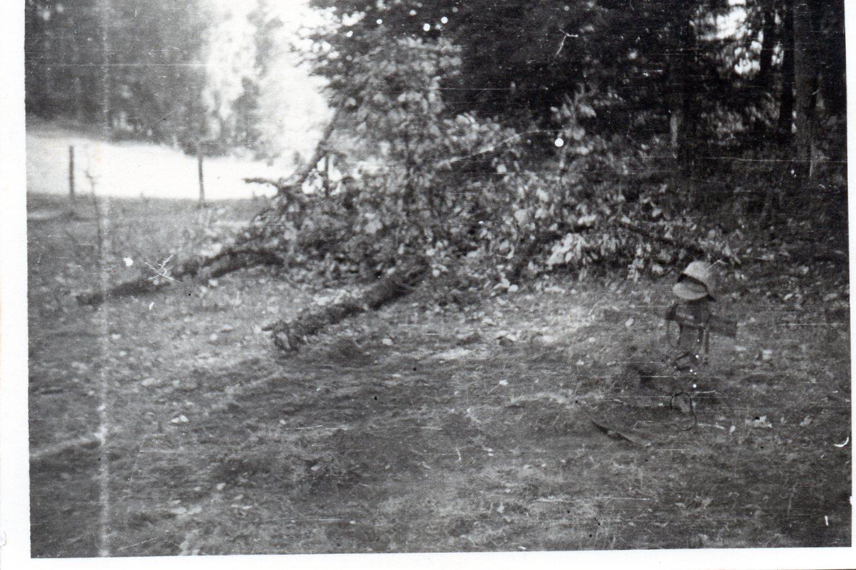 Le peloton caniot vient d enterrer un jeune soldat allemand