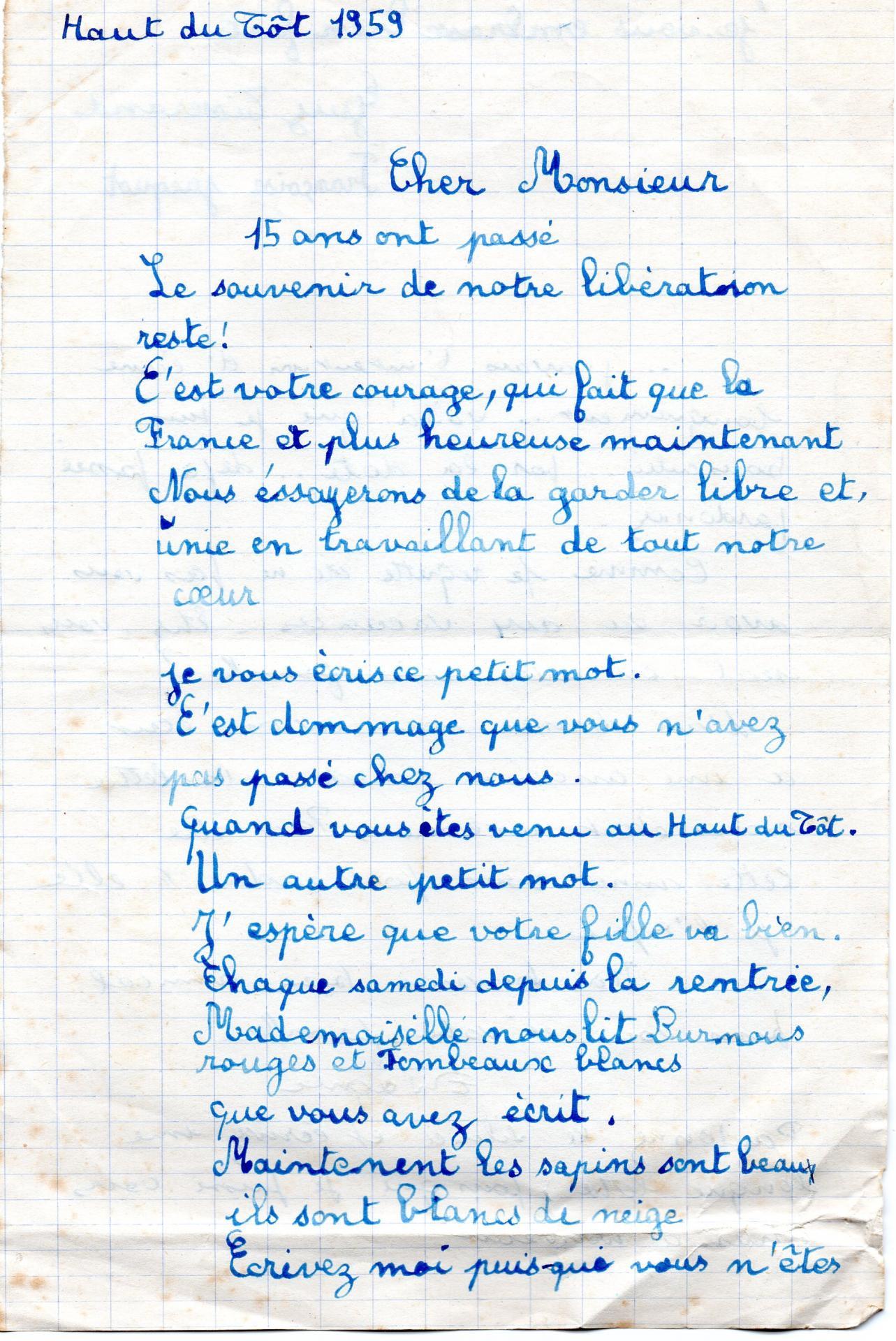 Lettres d eleves haut du tot 1959 001